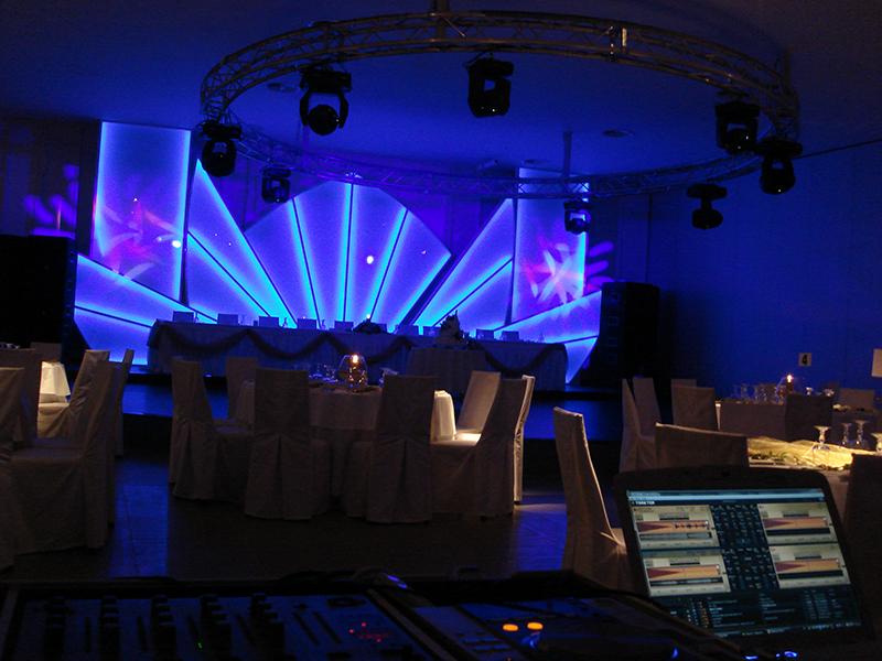 Wedding – special light show